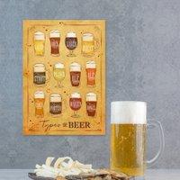 Placas Decorativas de Bebidas