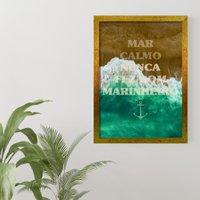 Quadros Praia E Mar