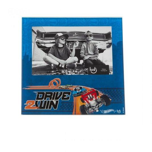 Porta Retrato Hot Wheels Drive - Dirija Para Vencer! - LUDI