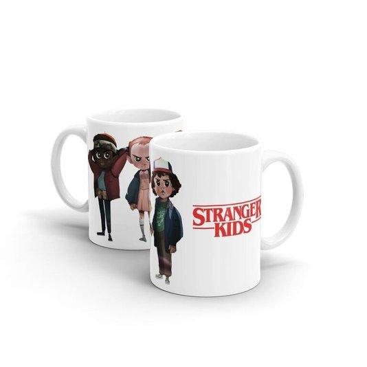 Caneca de Cerâmica Stranger Kids - Stranger Things - BEEK GEEK'S STUFF