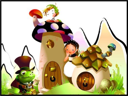 Placa Decorativa Infantil Cogumelo Mágico