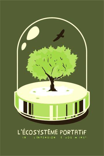 Placa Decorativa L'écosystême Portatif