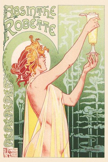 Placa Decorativa Vintage Absinthe Robette
