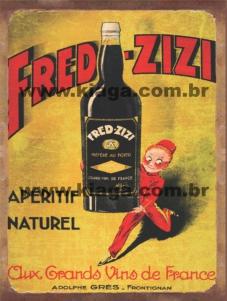 Placa Decorativa Fred - Zizi