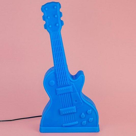 Luminária Guitarra Azul – USARE