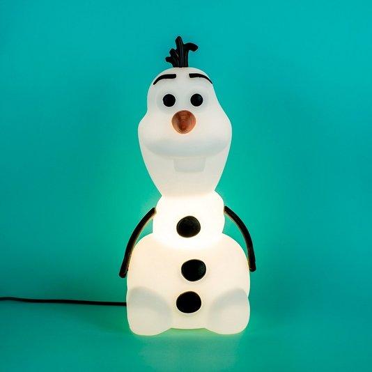 Luminária Olaf Sentado Frozen - USARE