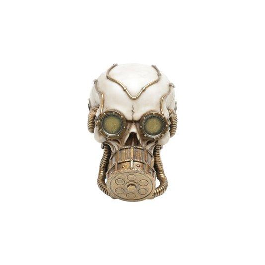 Caveira de Resina Máscara de Oxigênio  - URBAN