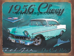Placa Decorativa 1956 Chevy