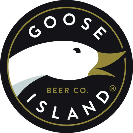 Placa Decorativa Redonda Goose Island