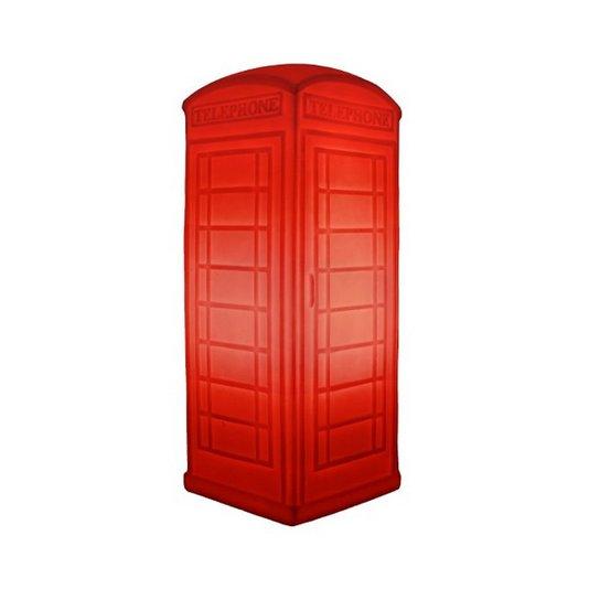 Luminária Cabine Telefônica Vermelha - USARE