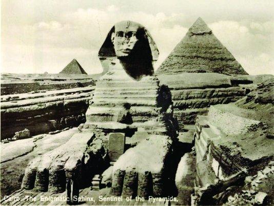 Placa Decorativa Piramides do Egito Cairo