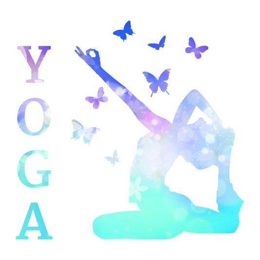 "Placa Decorativa Frase: ""Yoga"""