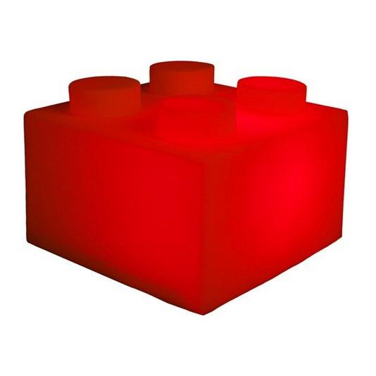 Luminária Bloco Vermelho - USARE
