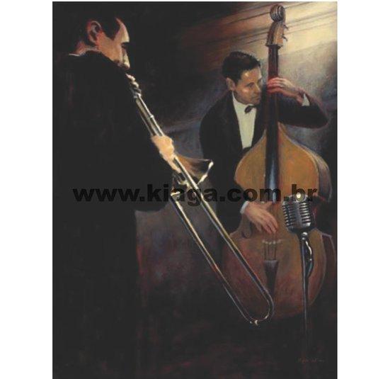 Placa Decorativa Banda Música Clássica