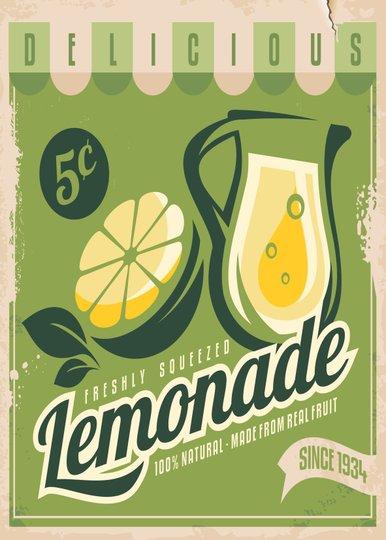 Placa Decorativa Lemonade