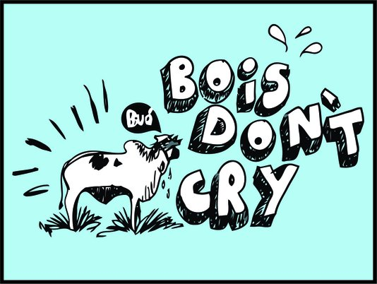 Placa Decorativa Bois Don't Cry