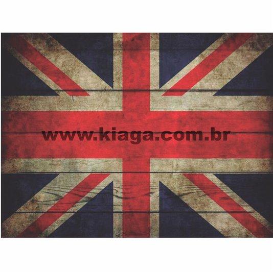 Placa Decorativa Vintage Bandeira da Inglaterra