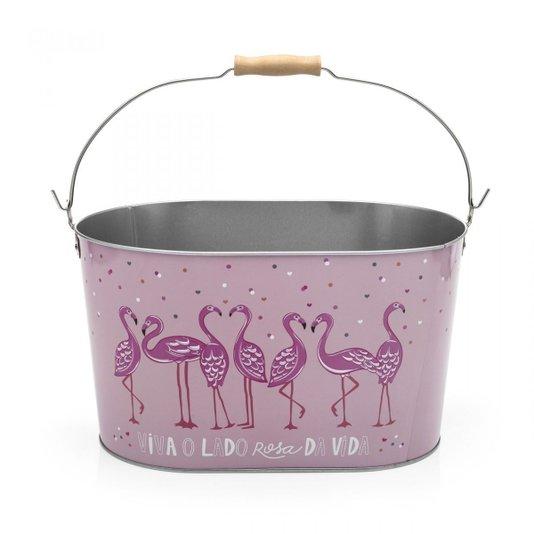 Balde de Gelo Flamingos - LUDI