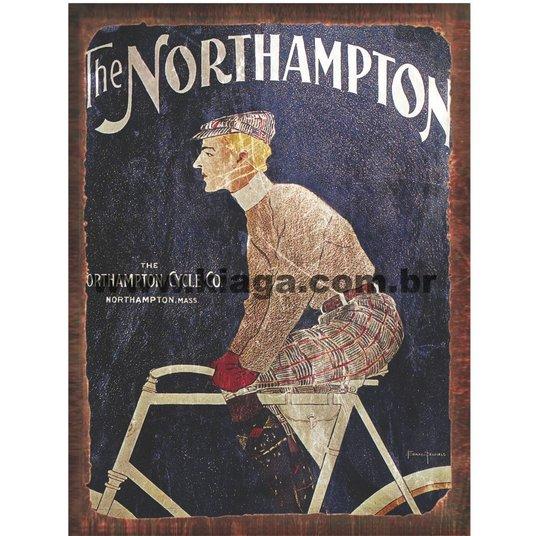 Placa Decorativa Bicicleta Northampton