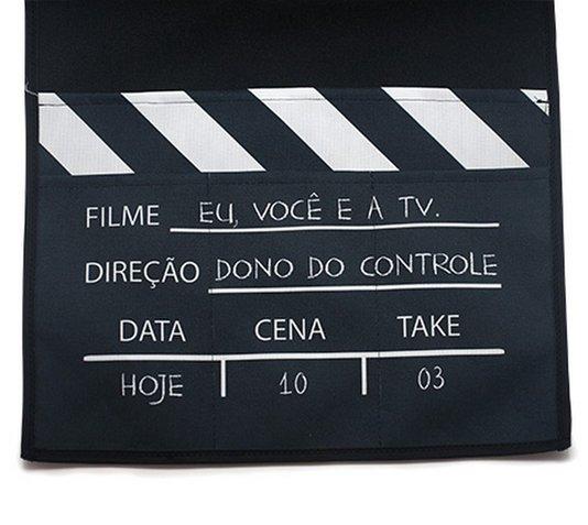 Porta Controle Remoto de Sofá eu, Você e a TV - Kathavento