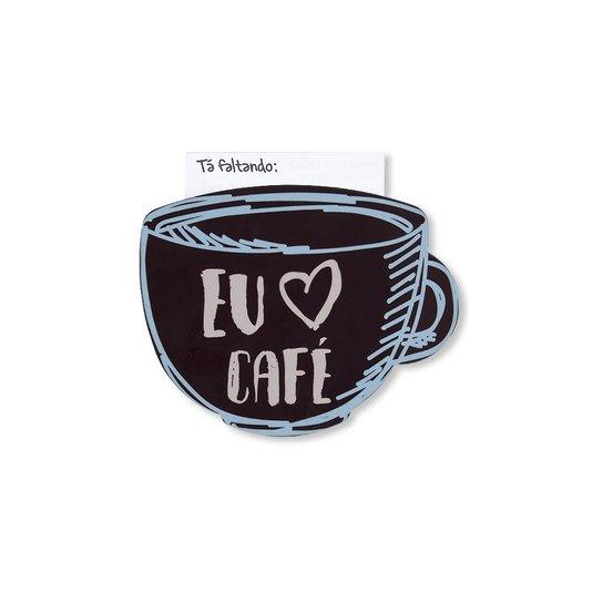 Super Ímã Fixador de Lembretes Amo Café - GEGUTON