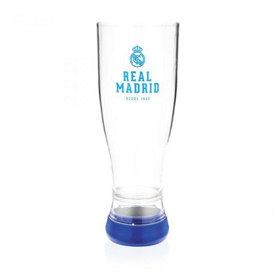 Copo Tulipa Gravadora Com Projetor Real Madrid - LUDI