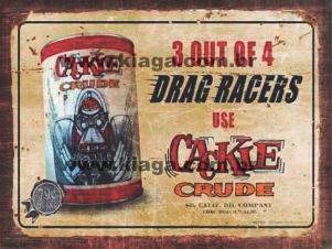 Placa Decorativa Drag Racers