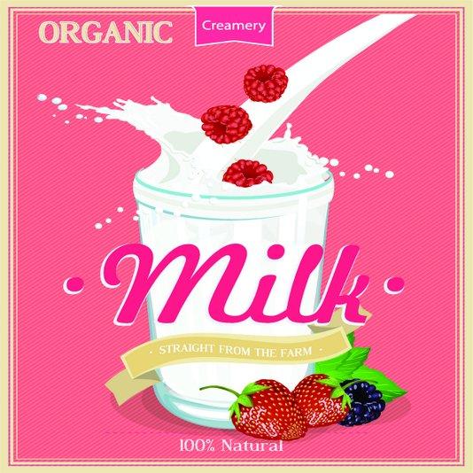 Placa Decorativa Organic Milk 100% Natural