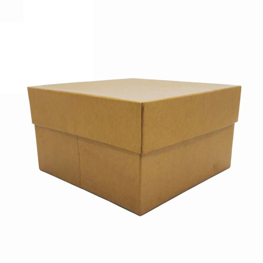 Caixa Para Presentes Quadrada Dourada - 107