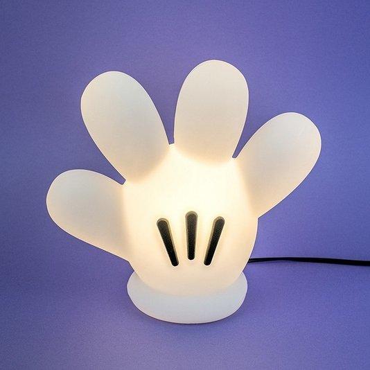 Luminária Luva Mickey - Branca - USARE