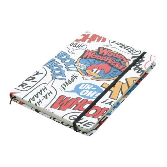 Caderno de Anotações Diário Pica Pau Onomatopeias  - URBAN