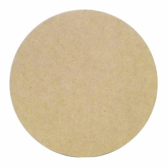 Chapa de Mdf Redondo 3mm Souplast 20 cm de Diâmetro