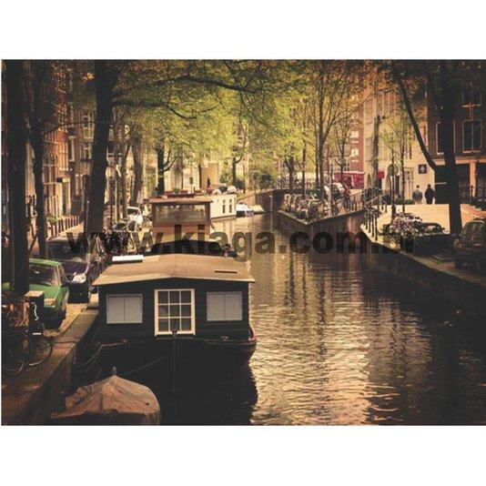 Placa Decorativa Amsterdam