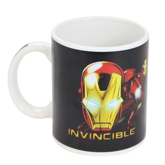 Caneca Magic Heróis Homem de Ferro - Termossensível - ZONACRIATIVA