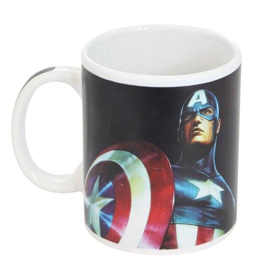 Caneca Magic Heróis Capitão América - Termossensível - ZONACRIATIVA