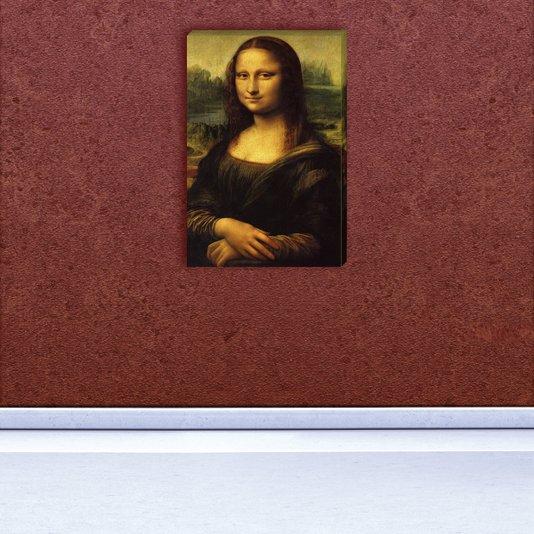Quadro Painel em Tecido Canvas Monalisa