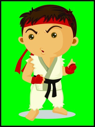 Placa Decorativa Infantil Karate Kid