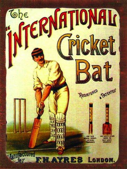 Placa Decorativa Baseball Vintage