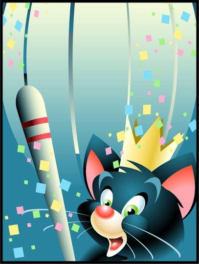Placa Decorativa Infantil O Gato