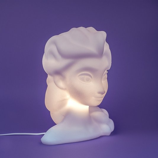 Luminária Busto Elsa Frozen - USARE