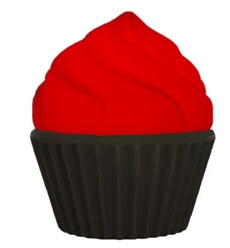 Luminária Cupcake Vermelho - USARE