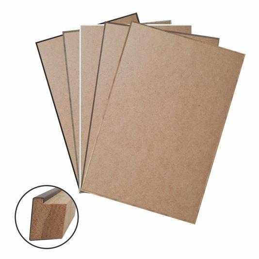 Moldura Filete Fina com MDF para Quadros - Leia as instruções de Montagem na Descrição - 1,8x3