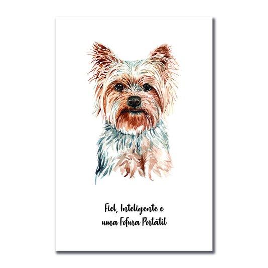 Placa Decorativa Cachorro Yorkshire Características da Raça