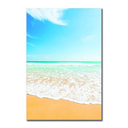 Placa Decorativa Coleção Mar Beira Da Praia