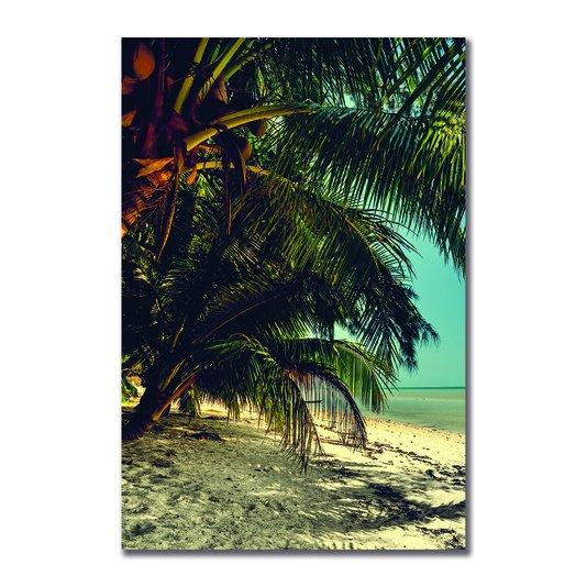 Placa Decorativa Coleção Mar Coqueiros