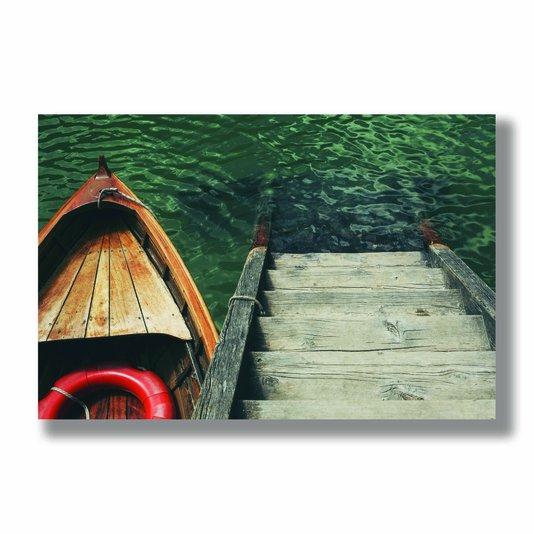 Placa Decorativa Coleção Mar Escada Para O Mar