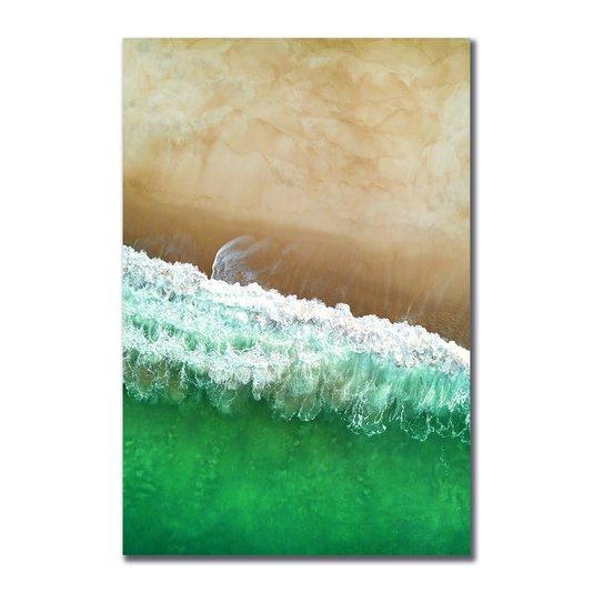Placa Decorativa Coleção Mar Praia