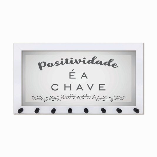 Porta Chaves Positividade é a chave