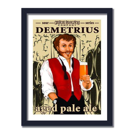 Quadro Decorarivo Company Demetrius