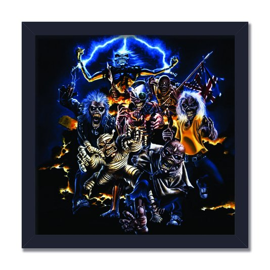 Quadro Decorativo Banda Iron Maiden Best of the Beast